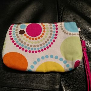 Thirty-One Mini Zipper Pouch with strap